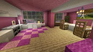 The pink house the pink house on its floating island a platform to repeat in order to make a path to the pink house. Pink Mansion Minecraft Pe Maps