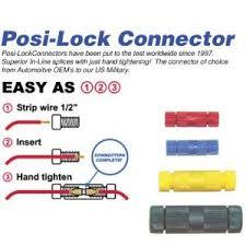 amazon com posi lock connectors 18 24 gauge bulk pack of 20 amazon com posi lock connectors 18 24 gauge bulk pack of 20 automotive