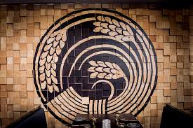 Wall Decor Idea   Murals On Painted Wood Blocks. The Wood Block Wall In This
