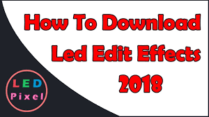 Rgb Pixel Led Ws2812 Shadow Designer Software Download How To Download Led Edit Effects Youtube