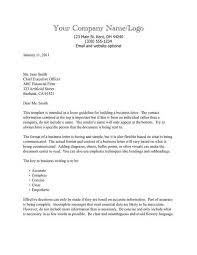 Professional Business Letters Examples Business Letters Examples Template Lezincdc Com