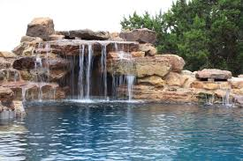 Large Grotto Waterfall