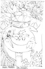 Henri Matisse Coloring Pages Awesome Matisse Goldfish Coloring Page