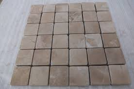 simple marble mosaic floor tile
