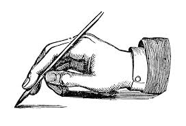Image result for clip art writing