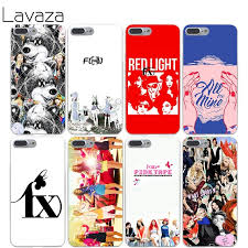 Lavaza f x f x kpop Cover Case for iPhone X 10 8 7 6 6s Plus 5s