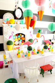 Flamingo Party Ideas Galore. Color Splash Birthday Party by Tiny Little  Pads - LENZO #
