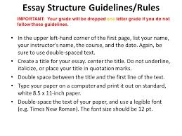 final draft essay due nov please staple in this order 2 essay structure