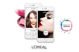 already ed over 20 million times the app uses recognition technology to virtually test make up on a smartphone or tablet