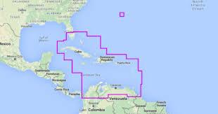 Free Nautical Charts Of The Caribbean Mapmedia Navionics Wide Vector Chart Wvnna908map Caribbean Bermuda