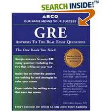 C GRE g ARCO GRE ANSWERS TO THE REAL ESSAY ARCO GRE ANSWERS TO THE REAL ESSAY QUESTIONS