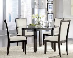 round glass kitchen table with endearing and chairs 37 36 dining 6 room 4 design 8