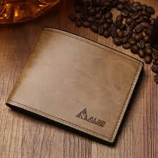 whole first class pu leather wallets men vintage purse famous brand man wallet high quality purse small black leather wallet mens front