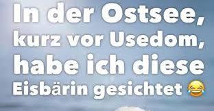 In Der Ostsee Kurz Vor Usedom Lustige Bilder Sprüche Witze