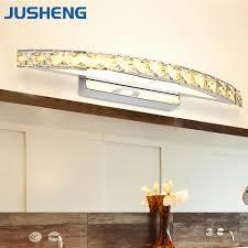 unique vanity lighting. 6 Lights Vanity Unique Jusheng Modern Linear Led Wall Fixtures Over Mirror In Lighting