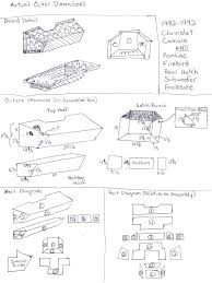 Slanted subwoofer box dimensions assembly directions