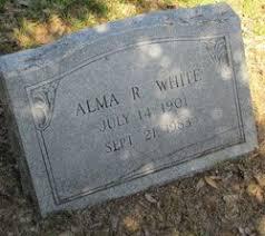 Alma Juanita Rhodes White (1901-1983) - Find A Grave Memorial