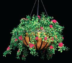 artificial outdoor hanging plants azalea hanging basket beauty exterior outdoor fall decorating on a budget