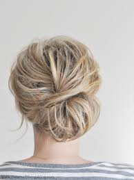 polished chignon