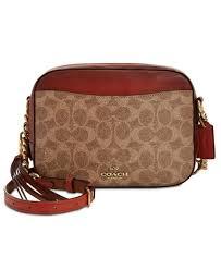 nwt coach 31208 women cross bags brown