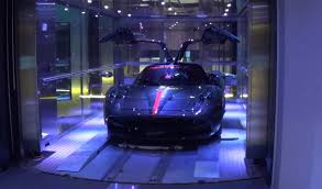 Porsche Design Tower Elevator Watch How Supercars Go Up Elevator To 40 Million Condo