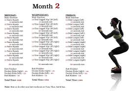 Workout Plans For Men S Weight Loss The 3 Month Butt Workout Plan