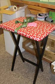 How To Make a TV Tray Ironing Board | American Quilting - Good ... & How To Make a TV Tray Ironing Board | American Quilting - Good tutorial Adamdwight.com