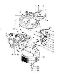 Bostitch cap2000p of parts master tool repair