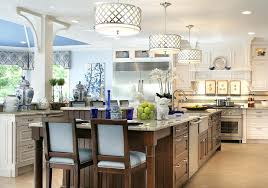 fantastic drum pendant lighting ideas for luxurious kitchen design with amazing kitchen cabinet image concept