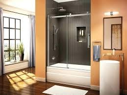 wonderful pivot tub shower door trackless shower doors medium size of pivot tub doors shower doors