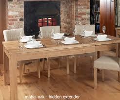 baumhaus mobel solid oak hidden home office. Baumhaus Mobel Oak Extending Dining Table Solid Hidden Home Office A