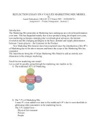 essay on ps of marketing
