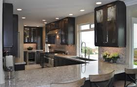 dark cabinets kitchen. Decoration Dark Maple Kitchen Cabinets The Collection Bath
