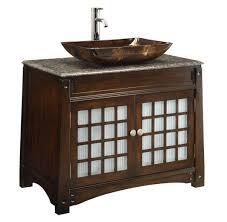 Wood Vanity Bathroom 36 Bathroom Vanity With Top