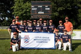 Walpole Little League News