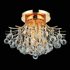 flush mount crystal chandelier. Picture Of 20\ Flush Mount Crystal Chandelier U