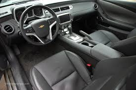 2014 chevy camaro interior. Beautiful Camaro 2014 Chevy Camaro Black Leather Interior On T