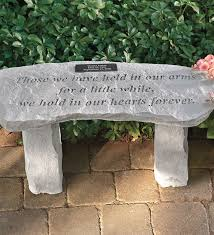 photo 5 of 10 personalized memorial garden bench landscaping and gardens charming garden memorial plaques 5