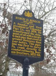Byron David Benson (1832 - 1888) - Genealogy