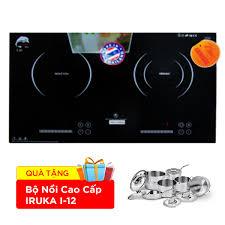 Bếp hồng ngoại điện từ IRUKA I-20 chính hãng, giá rẻ tại Thiên Hòa