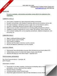 Administrative Assistant Resume Sample Resume Skills