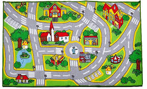 map rug get ations a home nylon textile waterproof kids rug street map in grey children area rug non