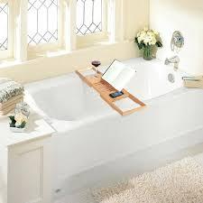 bathtub caddy bamboo bathtub enlarge bath caddy wooden