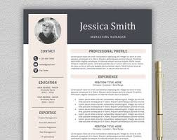 ... Modern Resume 15 Modern Resume Template Professional For Word Cover  Letter ...