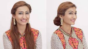 Occasion Hair Style 2 hairstyles for indian wedding occasions day to night youtube 7249 by stevesalt.us