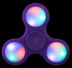 Fidget Spinner Light Blue Led Led Light Up Purple Fidget Spinner Purple Fidgetspinnet