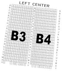 The Muny St Louis Mo Seating Chart Section B3 B4 The Muny