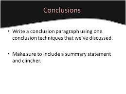 conclusion paragraphs for essays ppt video online  16 conclusions write