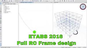Rcc Building Design Software Free Download Etabs 2016 Full Reinforcement Concrete Frame Design Basic Load