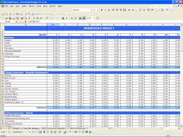 Expense And Income Template Income And Expenses Budget Template